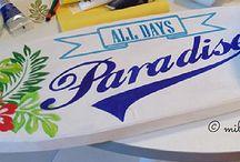 peindre pour la déco / peinture, diy, acrylique, aquarelle, décoration, bricolage, art