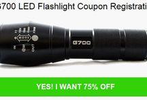 G700 Tactical Flashlight