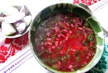 Borșuri,  supe și ciorbite ....