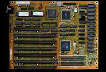 Elektronika - základní desky PC / Moje sbírka mainboardů