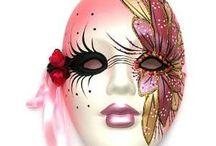 karnevál álarc