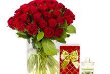 Saint Valentin : Collection florale et cadeaux