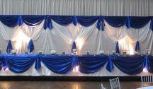 Royal Blue & Silver Beach Wedding