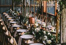 Industrie Olive Hochzeit