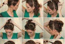 Kontyos frizurák