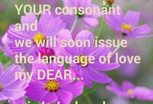 YOU are my language my DEAR...