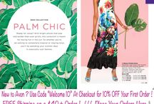 Avon Fashion For Summer Tops Bottoms Palm Chic Dresses & More!