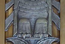 Cool Art Deco metalwork