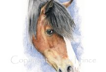 Art - Horses I have painted
