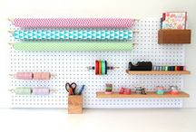 Chart Peg Boards / Photos of our new Peg Board range and funky custom-made accessories