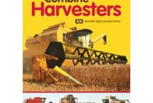 Combines & Harvest / Books & DVDs on combines and harvest, all available now from www.oldpond.com.