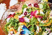 Salades / Des salades gourmandes, simples et colorées à réaliser!