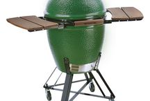 Big Green Egg Inspiration / The Big Green Egg is becoming increasingly popular in the BBQ scene. Here we've posted some of our favorite recipies and installs. Don't have a Big Green Egg? We sell them online at http://www.taylorsbackyardcenter.com/grills/portable_grills