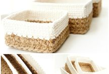 Jute and cotton patterns