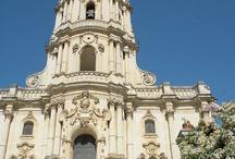 Bellezze di Modica / Bellezze della Città Barocca Modica, Provincia di Ragusa Sicilia, famosa per essere parte del set della serie TV Montalbano