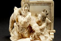Ivory and Mammoth Carvings