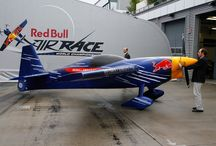 Red Bull Air Race / Light model flying object made of foam in original size