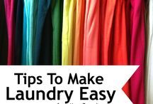 Homemaking Tips - Laundry