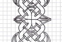 Vikinga / sådant som kan inspirera vikingamönster