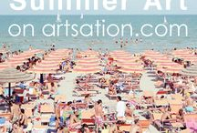 Summer Art on artsation.com! / Ocean View for your Living Room – Summer Art by Massimo Vitali and other contemporary artists available on artsation.com!