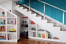 Escaleras espacios chicos
