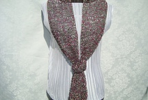 Fall Fashion/ Scarves / Handknitted  Scarves / by designbyelena