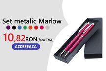 Pixuri personalizate / 3 modele de pixuir plastic cu personalizare in policromie la pret de lista a produsului neprsonalizat Minim 500 buc.