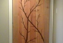 Artistic  Doors / One of a kind carved doors