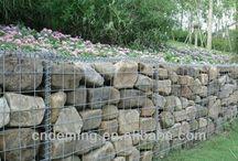 gaviones,muros y caminos