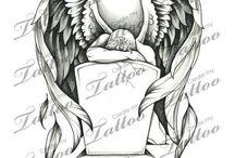 Tattoos Anjos