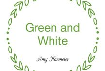 White and Green