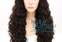 WIF Brown Wigs / WIF Brown Lace Front Wigs Collection! http://www.wigisfashion.com/collections/brown-lace-front-wigs