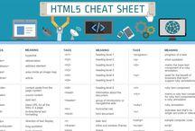 HTML & CSS Cheat Sheets