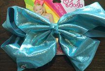 New jojo bows and stuff