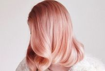 Mimosa - Hair colour / Blush and pink hues are so good right now. This is my collection of great hair shades, so much fun.