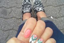 my nails and the idea