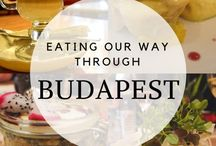 Budapest / Hungarian Food / This board explores Hungarian Food and Drinks, there is so much more then Gulash, Langos and Palinka :) Budapest food guides.