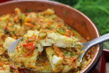 vegetable and fish bake recipies
