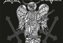 GodLikeIkons - Hellish logos and Devastating icons / Black Metal / Death Metal / Thrash Metal / Sludge Metal artworks and logos