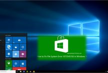 Fix Windows10 File System Error 1073545193 / http://www.windows101tricks.com/2016/04/How-To-fix-windows10-file-system-error-1073545193.html