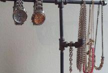 Horlosie en krale hangplek - pyp