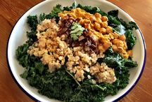 Salads / Organic, gluten-free, kosher, and plant-based! All tasty and freshly prepared.