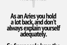 Aries <3 / Quotes to describe me