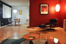 Living Room Ideas / Check out our takes on the modern living room with our mid-20th century furniture.
