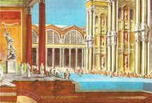 ókori fürdő