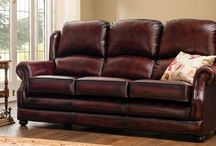 Marlow - Traditional Leather Furniture Range / Take a closer look at our range of Marlow traditional leather furniture. Other colour options are available, please see the website for more details - http://www.thomaslloyd.com/range/marlow/