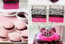 Pink and Zebra Party / by Hannah Lee