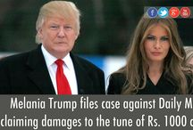 Melania Trump Files Defamation Case Against Daily Mail Online