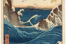 Aquarelle :: Japon estampes