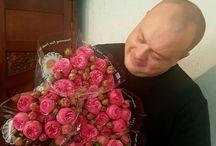 piano pink trsovè růže
